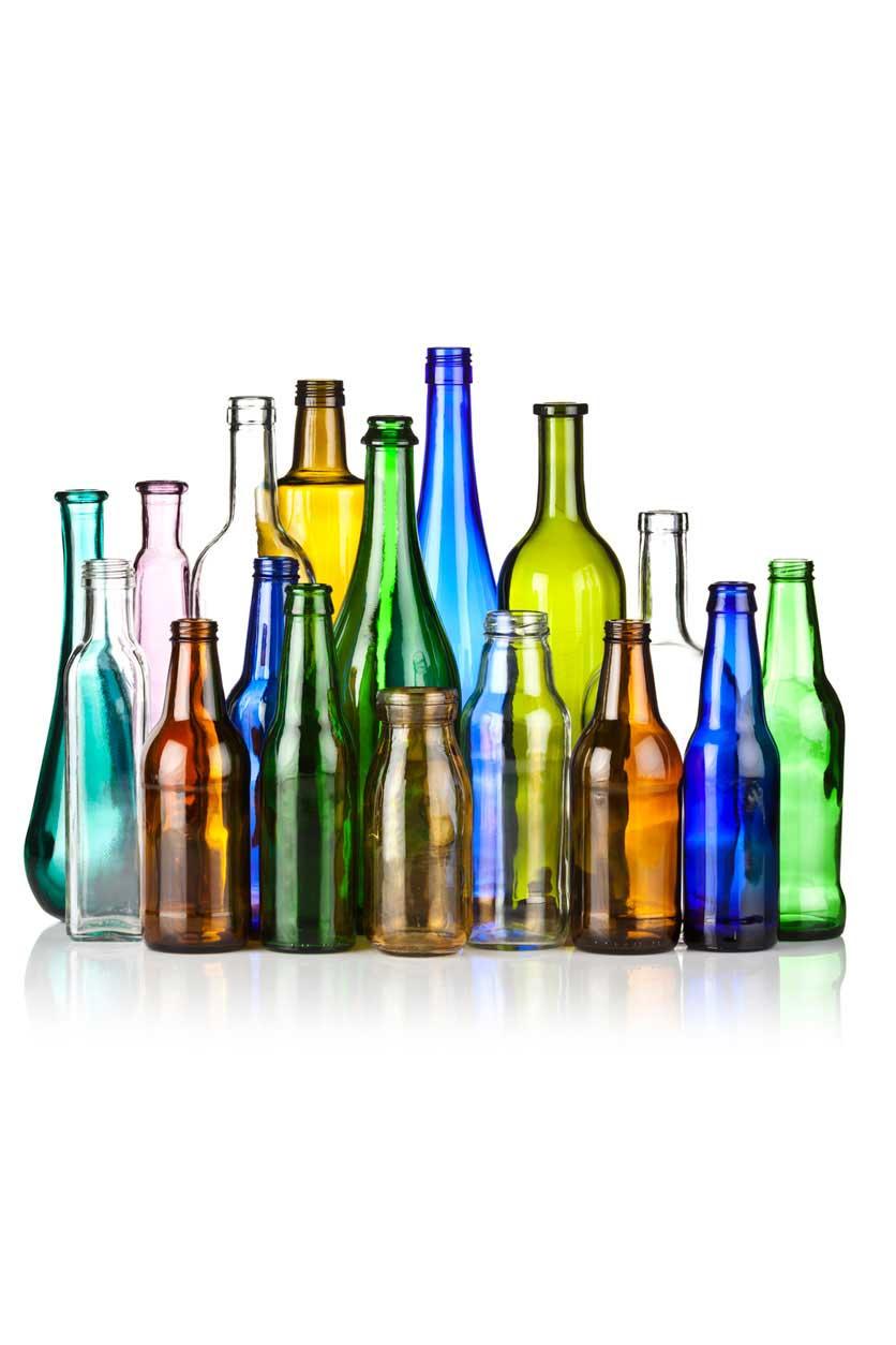 hepta global glass bottle
